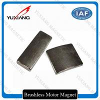 Buy cheap NdFeB Arc Tiles Neodymium Permanent Magnets High Performance For Linear Motors from wholesalers