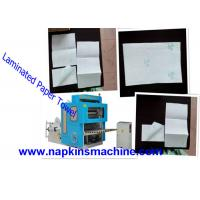 Buy cheap Jumbo Roll V Fold Toilet Paper Making Machine / Tissue Paper Converting Machine from wholesalers