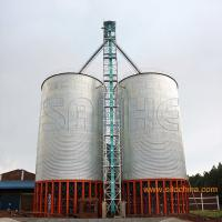Buy cheap Hopper Corn Storage Silo for vertical storage assembly at site from wholesalers