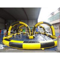 Buy cheap outdoor Zorb Ball Race Track Inflatable for kids , Inflatable Sports Games from wholesalers