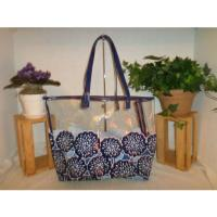 Buy cheap Plastic Transparent Pvc Tote Bag Reusable Makeup Container Water Resistant from wholesalers