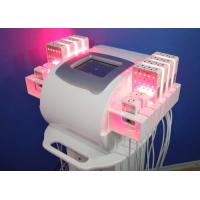 Buy cheap Zerona Laser Lipo Diodes Laser Liposuction Machines for Salon ,  Lipolaser Cellulite Removal from wholesalers