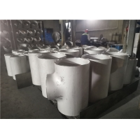 Buy cheap Seamless TP304 Butt Welded 110mm Equal Tee Pipe Fitting Varnished from wholesalers