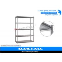 Buy cheap 5 Tier Boltless Rivet Shelving Metal Garage Shelves With Invisible Holes from wholesalers