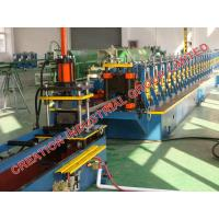 China Stainless Steel Shelf Storage Cabinet Shelving Rack Rollforming Production Line on sale