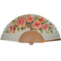 Buy cheap Transfer Printing Wooden Hand Fans For Promotion , Gift , Souvenirs Aesthetical from Wholesalers
