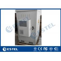 Buy cheap One Compartment Galvanized Steel Double Wall Outdoor Telecom Cabinet With Air Conditioner And Fans from wholesalers