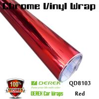 Buy cheap Chrome Mirror Car Wrapping Vinyl Film 3 layers - Chrome Red from wholesalers