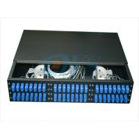 Buy cheap 19 Inch Rack Mount Odf Optical Fiber , 2U 48 Core Optic Patch Panel Odf from wholesalers
