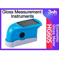 Buy cheap Ceramic Tile Leatherwear Single Angle Gloss Meter Measurement Instruments HG60S Gloss analyzer from wholesalers