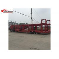 Buy cheap 3 Axles Car Carrier Trailer Steel Leaf Spring Suspension For  Vehicle Transportation from wholesalers