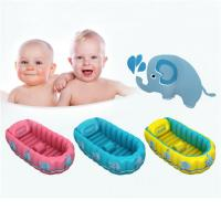 Buy cheap Folding Portable Inflatable Baby Bathtub,Children Washbowl Tub,Baby Swimming Pool from wholesalers