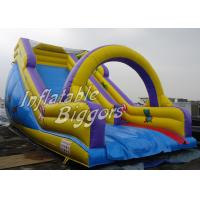 Buy cheap Kindergarten Mini Inflatable Slide Rent , Outdoor Inflatables For Kids from wholesalers