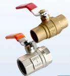 Buy cheap 1/2 - 2 Inch Female Brass Ball Valve Iron Handle Sanitary Ball Valve from wholesalers
