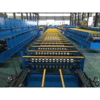 Buy cheap 25 Stations Roof Panel Roll Forming Machine Coil Width 1000mm High Productive from wholesalers