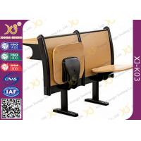 Buy cheap Double Person College School Desk And Chair, Wood Campus Bench And Table For Sudent from wholesalers