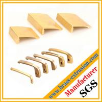 Buy cheap C38500 CuZn39Pb3  CuZn39Pb2 CW612N C37700 OEM factory copper alloy pen clip brass extrusion profiles from wholesalers