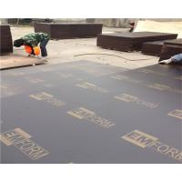 Buy cheap Construction Film Faced Waterproof 18mm Marine Plex Plywood from wholesalers