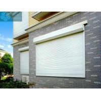 Buy cheap White 1.5mm Aluminum 1.5m Hieght Automatic Window Shutters from wholesalers