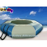 Buy cheap Blue Air Sealed  Inflatable Water Parks , Inflatable Trampoline For Water from wholesalers