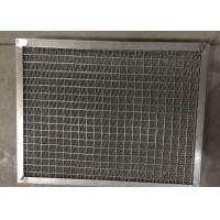 Buy cheap Air Filter Pad Gas Liquid Separator 500 - 480 Mm Framed Knit Mesh from wholesalers