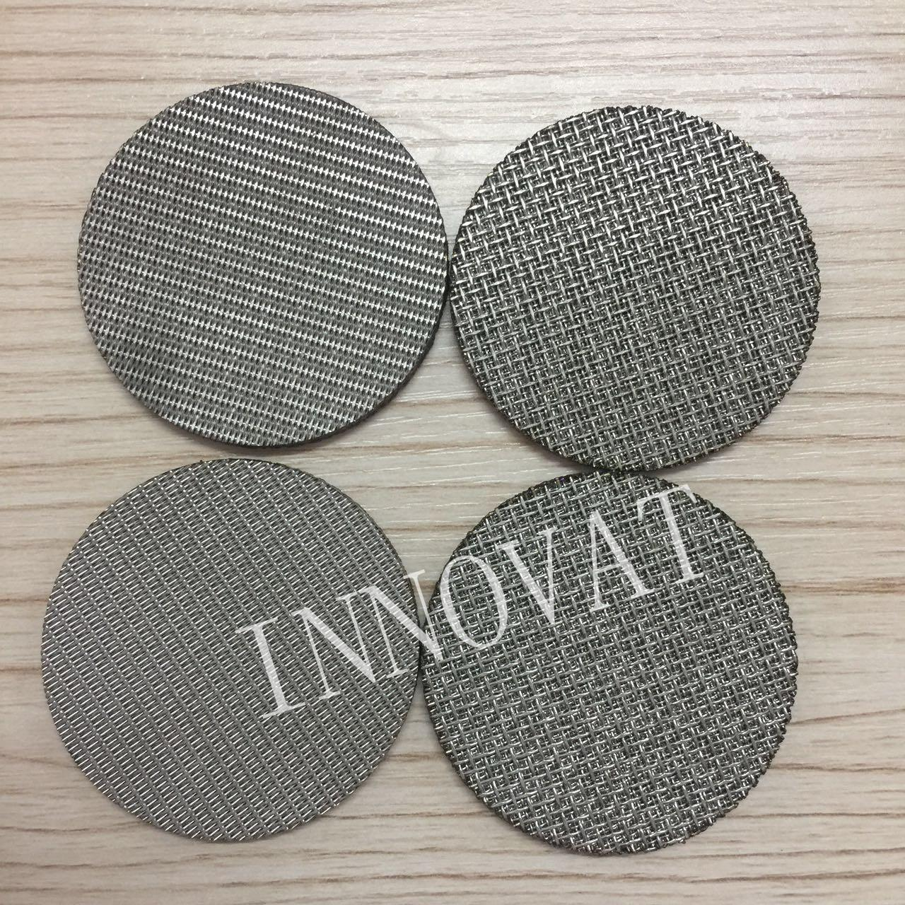 Buy cheap View larger image stainless steel perforated metal sintered wire mesh filter disc (free sample) stainless steel perfora from wholesalers