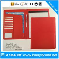 Buy cheap Office supplies A4 size letter pad/memo pad/ leather writing pad from wholesalers
