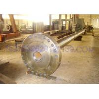 Buy cheap Boat Forged Steel Shafts , Transmission Input Shaft Heat Treatment , forged long shafts from wholesalers