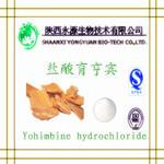 Buy cheap 100% pure natural herbal extract Yohimbine Bark P.E.(Yohimbine/ Yohimbine Hydrochloride)98%/8% from wholesalers