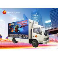 Truck Mobile 7D Simulator Cinema Movie Theater Equipment 220V 2.25KW