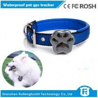 Buy cheap dog gps tracker/waterproof pet gps tracker /gsm quad band network/geo-fence from wholesalers