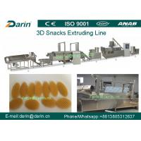 Buy cheap 3D Snack Pellet Machinery / Single Screw Snack Extruder Machine for 3D Pellets from wholesalers