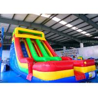 Buy cheap 0.55mm PVC Tarpauline Large Inflatable Slide For Backyard Kids' Party from wholesalers