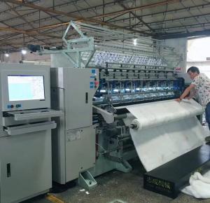 Buy cheap High Speed Multi Needle Quilting Machine Lock Stitch Garments Making Machine product