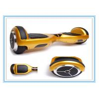 Buy cheap 6.5 Gold Wearproof Two Wheel Self Balance Board Scooter with bluetooth Speaker from wholesalers