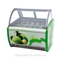 Buy cheap Electric Gelato Display Case , Single Temperature Commercial Display Freezer with 1800mm Length product