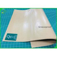 Buy cheap Food Grade And Greaseproof PE Coated Paper Laminated Kraft Paper Roll For Lunch Box from wholesalers