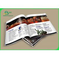 Buy cheap 80 - 400g Coloring C2S Glossy Art Paper Printing Magazine Two Side Coated from wholesalers