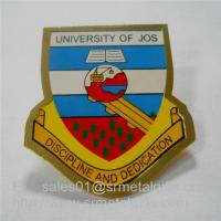 Buy cheap Custom gold plated enamel painting university lapel pin with butterfly clutch, from wholesalers