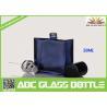 Buy cheap 50ml Black Color Aluminum Cap Glass Perfume Spray Bottle, Aluminum Glass Perfume from wholesalers
