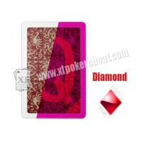 Buy cheap XF Copag Plastic Invisible Marked Playing Cards From Brazil For Poker Reader And For Purple Red Contact Lenses from wholesalers