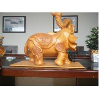 Buy cheap Hot Sale Granite Stone Indian Elephant Decoration from wholesalers