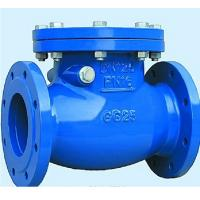 Buy cheap pn16 flanged wafer type double disc swing check valve from wholesalers