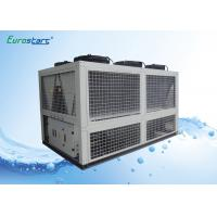 424KW Air Cooled Water Chiller Air Cond Chiller Adjustable Old Water Temp 72.9 CMH