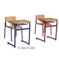 Buy cheap school desk and chair,school chair,student desk,school furniture,primary school desk and chair from wholesalers