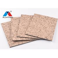 China Heat Resistant Aluminium Composite Material Cladding Panels For Shop Decoration on sale