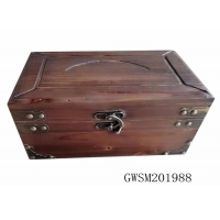 Buy cheap Classic Retro firwood Treasure Chest Storage Trunk from wholesalers