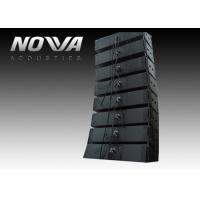 Buy cheap Big 3 Way Line Array Subwoofer System / Passive Speaker Box , 370x1175x610mm from wholesalers