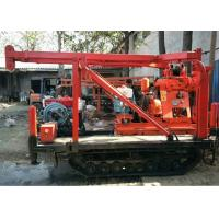 Buy cheap Home Rock Core Drilling Machine , Hydraulic Rotary Drilling Rig 15KW Power from wholesalers