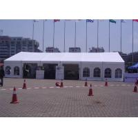 Buy cheap 12m Span Small Outdoor Event Tent Translucent UV Protection With Window from wholesalers